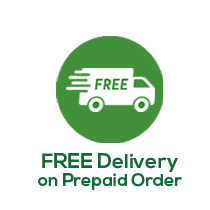FREE Delivery on Prepaid Order